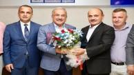 FADEF'TEN HİLMİ GÜLER'E ZİYARET