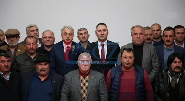 FATSALI MUHTARLAR İSTİŞARE TOPLANTISINDA BİR ARAYA GELDİ