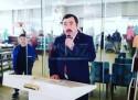 ŞEHİT AİLELERİ KAHVALTIDA BULUŞTU