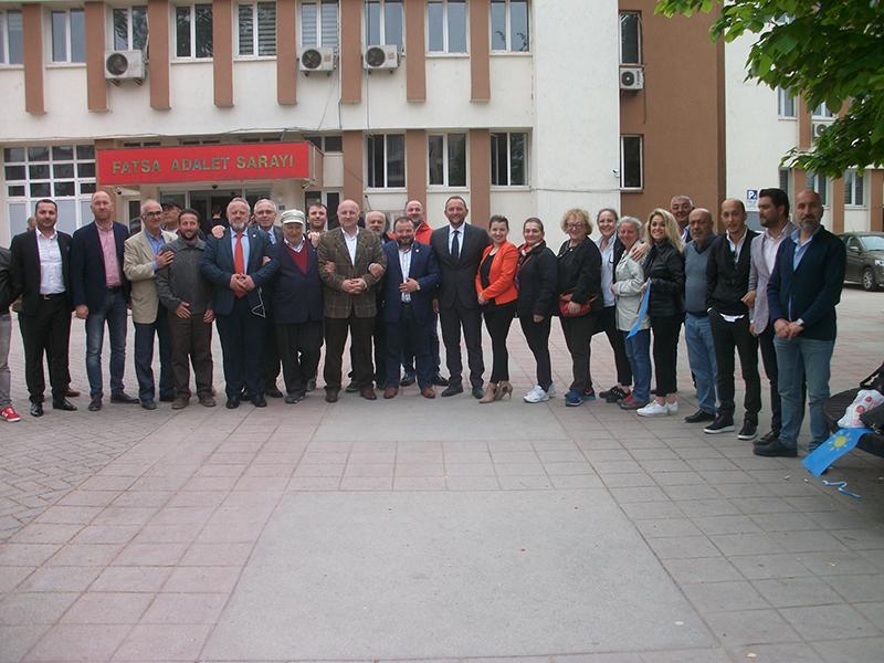 Meral Akşener'in Cumhurbaşkanlığı Adaylığı İçin Fatsa'da vatandaş İlçe Seçim Kurulu'na Akın Etti