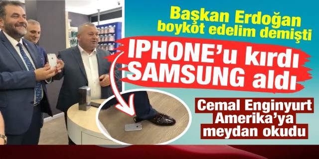 İPHONE'U KIRDI SAMSUNG ALDI