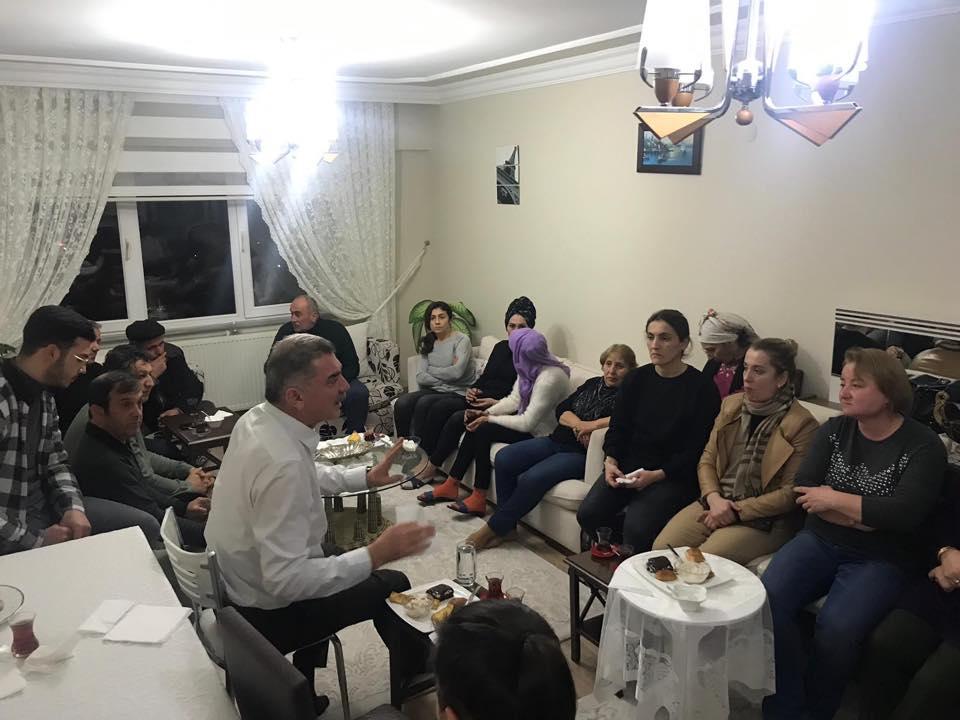Ahmet Canbaz Ziyaretlerini Sürdürüyor
