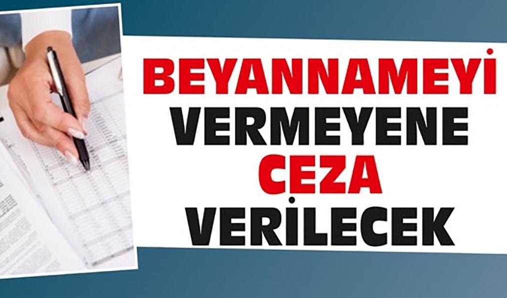 BEYANNAME VERMEYEN DERNEKLERE CEZA GELİYOR!