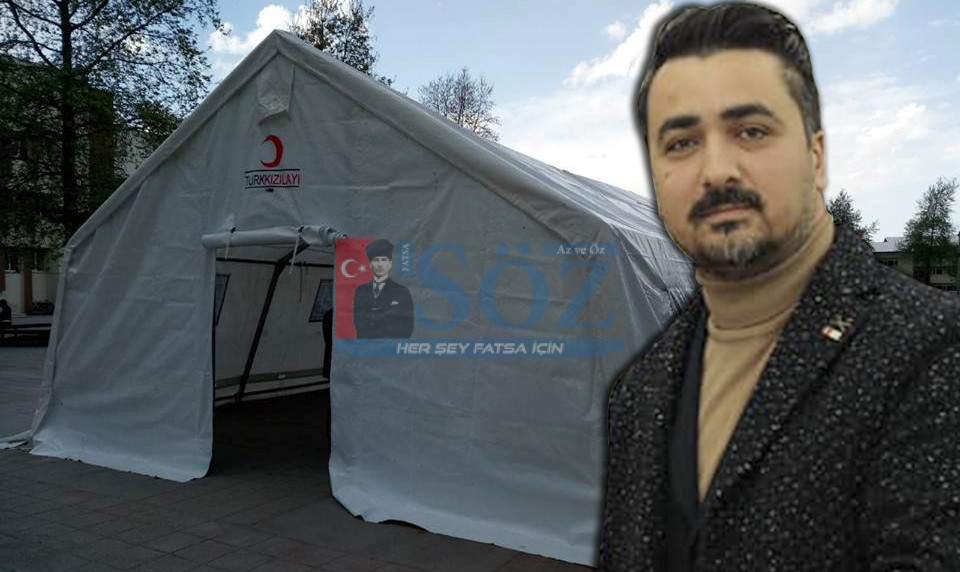 Türk Kızılay'ı İftar Sofrası Fatsa'da Vatandaşları Buluşturuyor