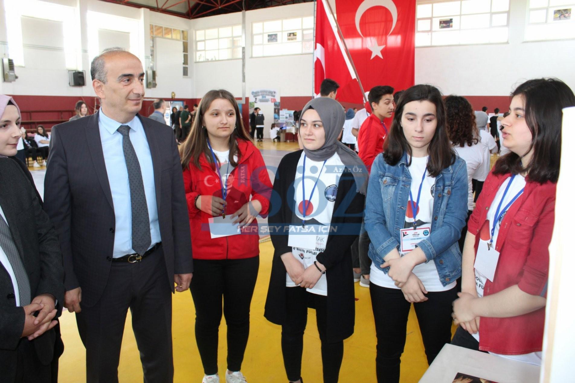 """Fatsa'da """"4006 TÜBİTAK Bilim Fuarı"""" Açıldı"""