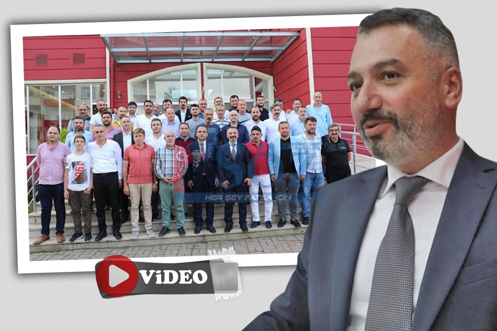 FATSA BELEDİYESPOR'UN YENİ BAŞKANI OP.DR.MEHMET ONUR SARIHAN