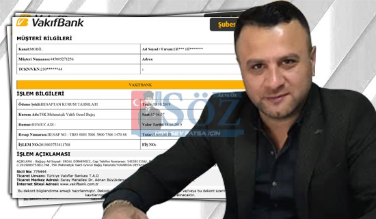 Erdal Otomotiv'den Mehmetçik Vakfı'na Bağış