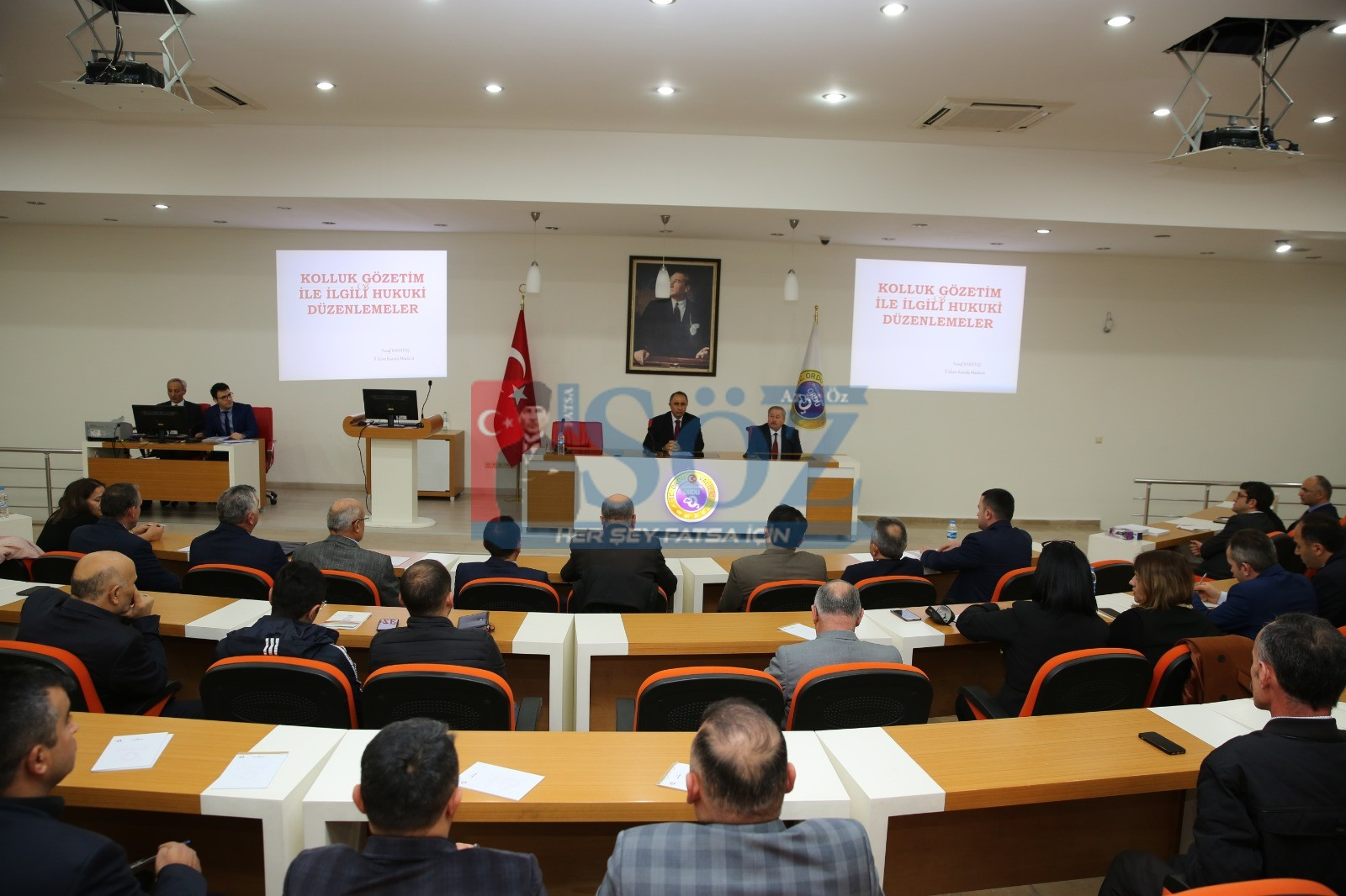 Kolluk Gözetim Komisyonu Eğitimi Yapıldı