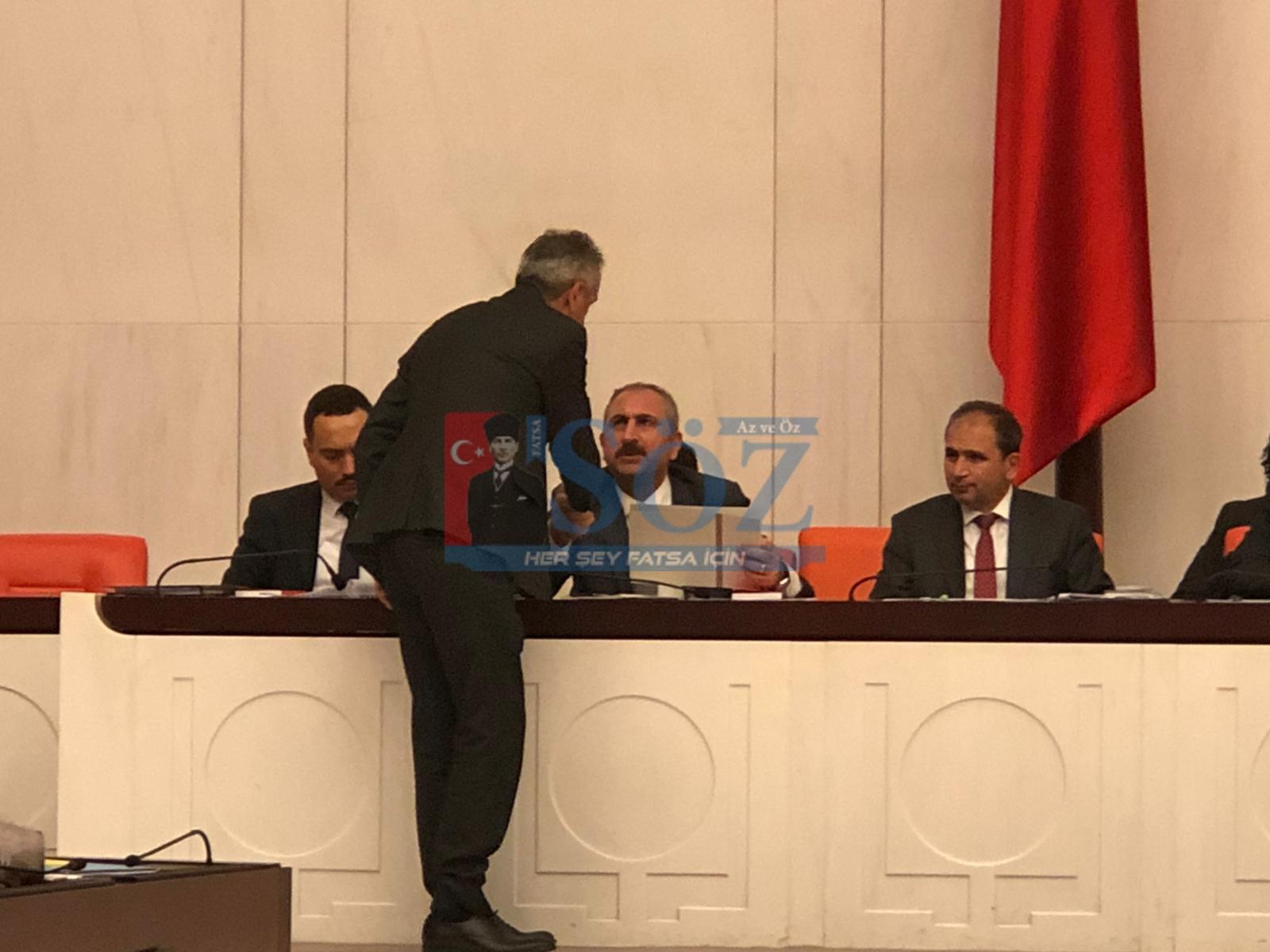 Altınordu Tutanağını Adalet Bakanı Güle elden verdi