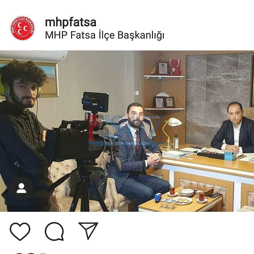 MHP Fatsa İlçe Başkanı Murat Kaçak, Ülkücülerin sesi olan Bengütürk TV'ye konuk oldu.