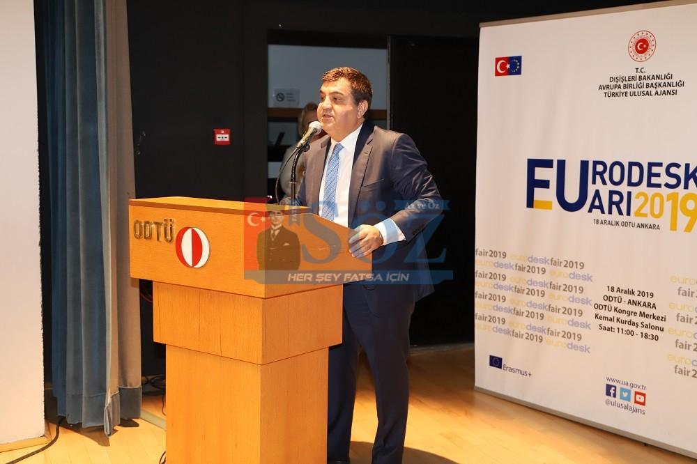 Valiliğimiz, Eurodesk Türkiye Gençlik Fuarı'na Yerini Aldı