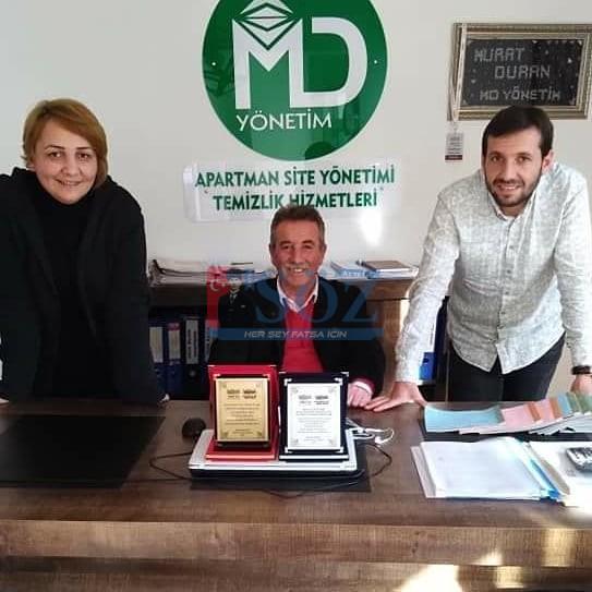 1.Uluslararası Tesis Yönetim Zirvesine Ordu il Temsilcisi olarak katılan MD Prosfoyonel Apartman ve Site Yönetimi ödüle layık görüldü.