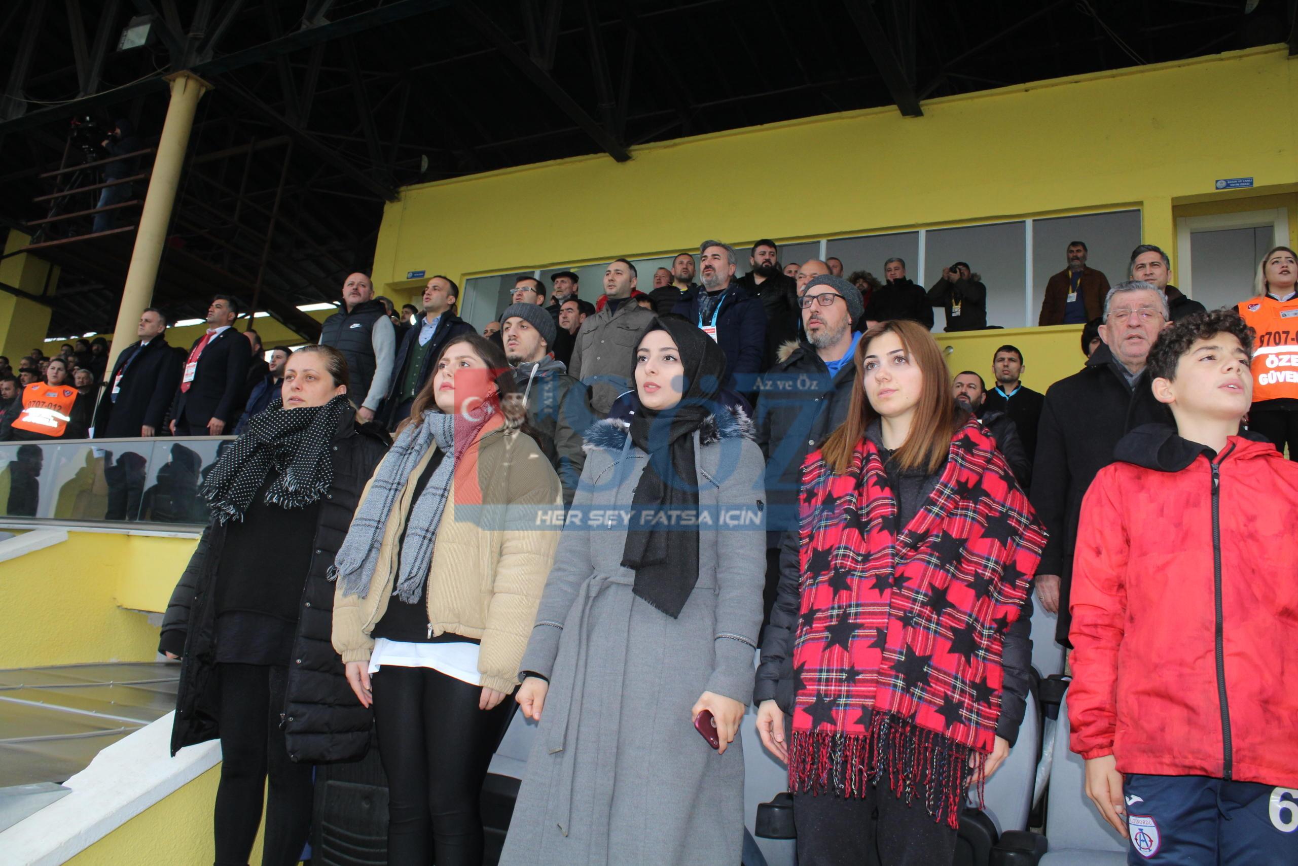 FATSA BELEDİYESPOR NEFES ALDI