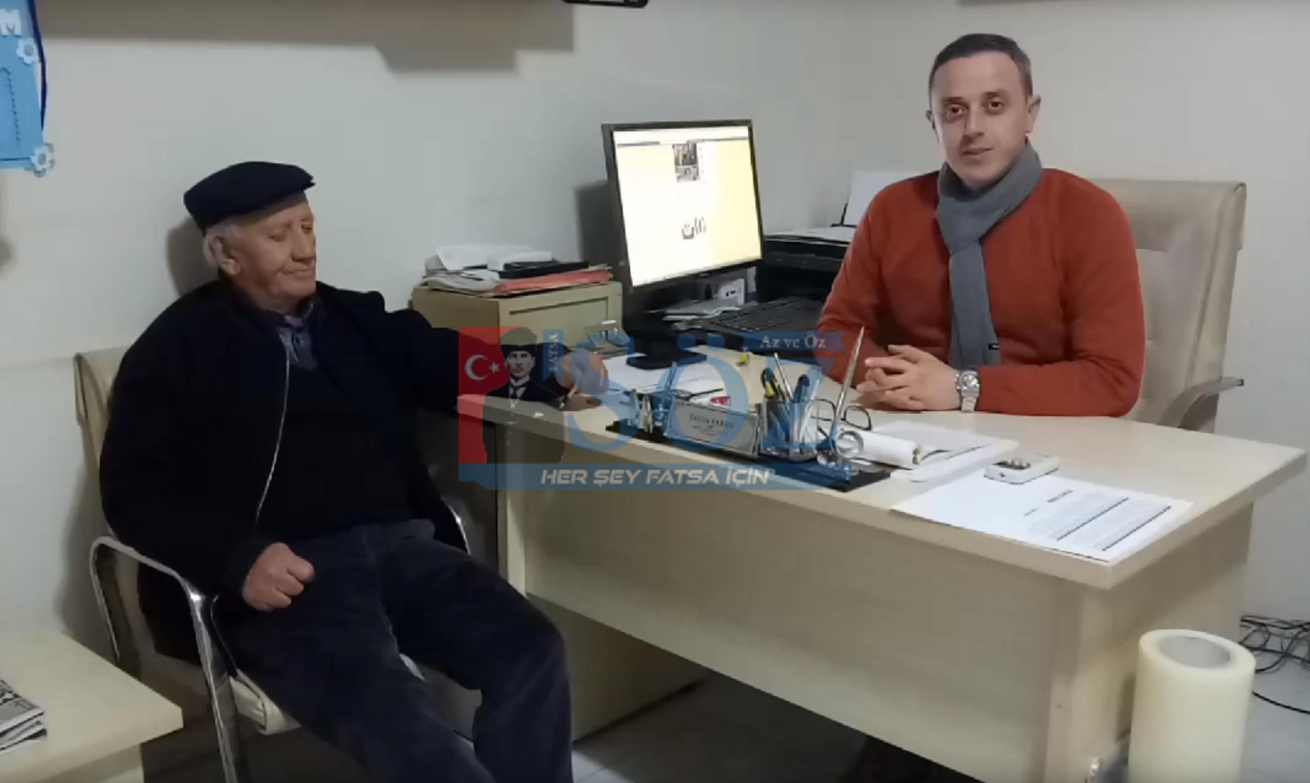 ÇAMUR ŞEVKET'TEN FATSA BELEDİYESPOR AÇIKLAMASI