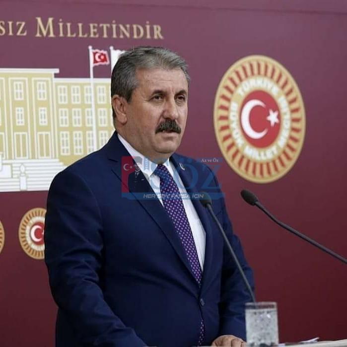 BBP Genel Başkanı Mustafa Destici Ordu'ya Geliyor