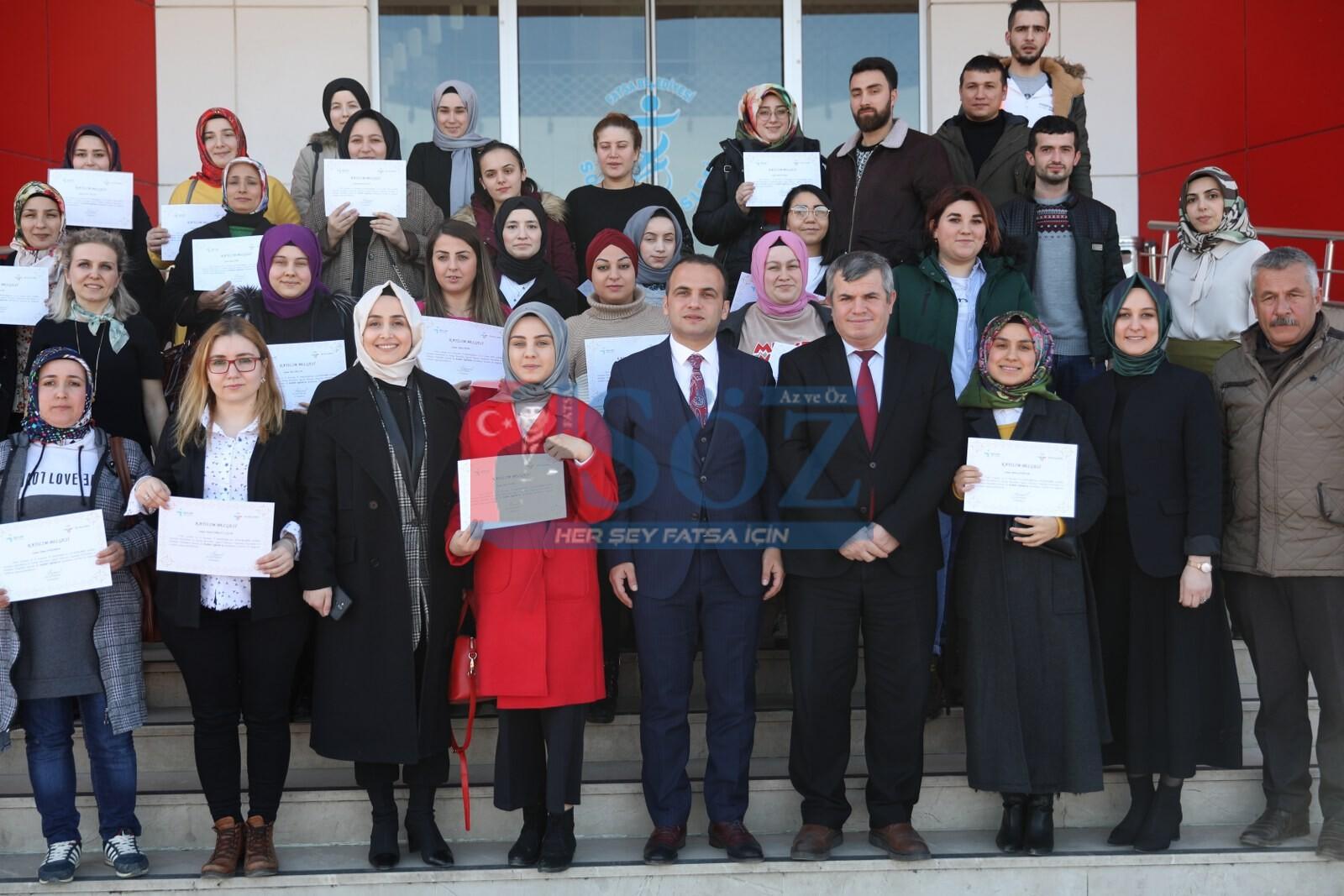 İŞ GARANTİLİ EĞİTİM PROGRAMI İLK KEZ FATSA'DA UYGULANDI