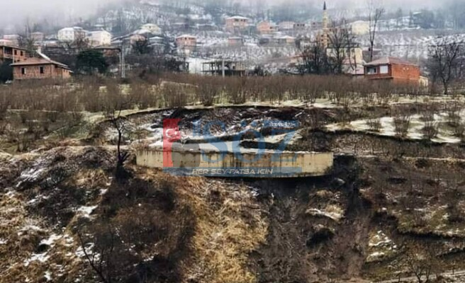 Aybastı'da 12 Bina Tahliye Edildi