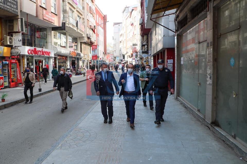 Vali Yavuz, Habersiz Denetimlerde Bulundu