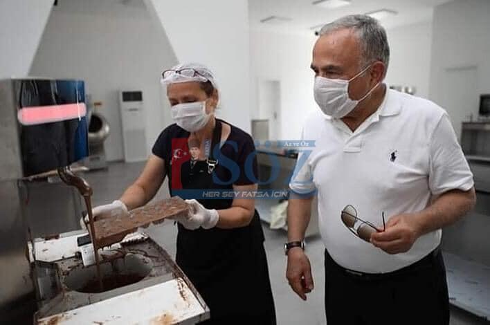 """""""ÇİKOLATA KAFE"""" AÇILDI"""
