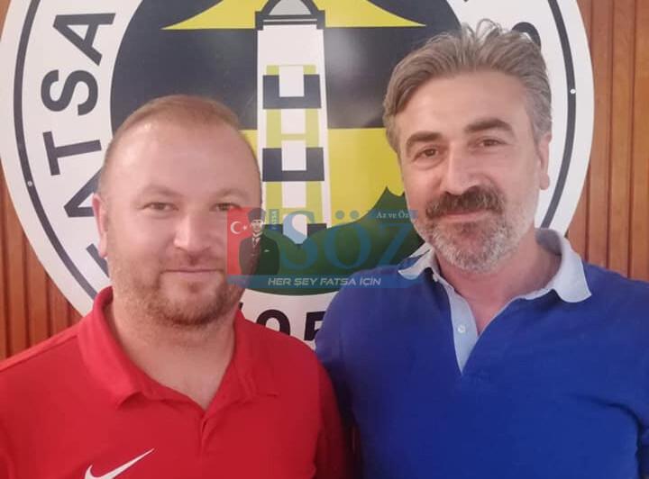 ERHAN ÇELİK'E FATSA BELEDİYESPOR'UN ALT YAPISI EMANET EDİLDİ