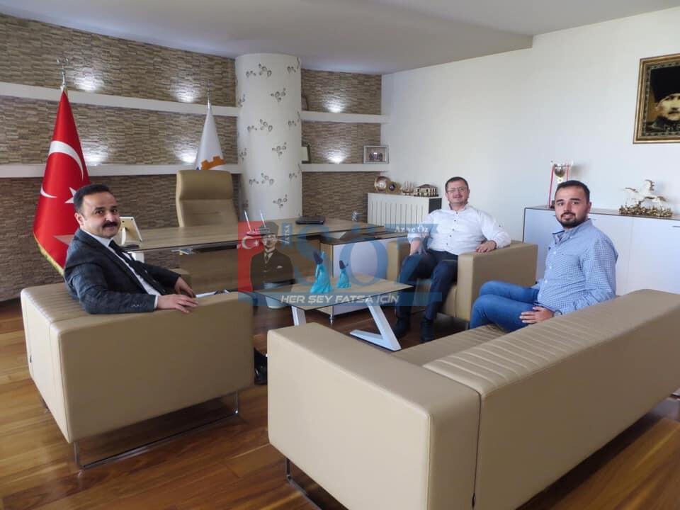 MHP ORDU İL BAŞKANI FATSO'YU ZİYARET ETTİ