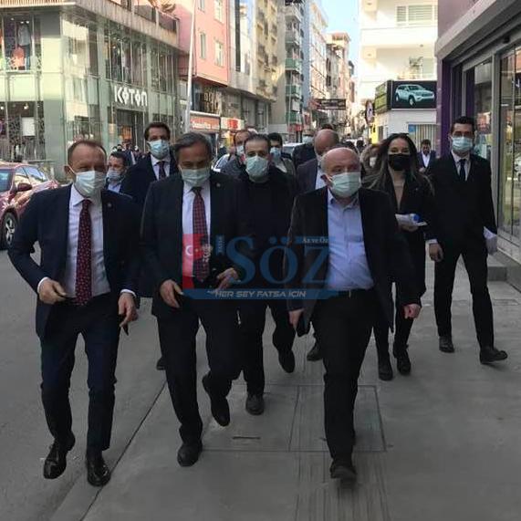 SEYİT TORUN FATSA'YA BİR GELDİ PİR GELDİ