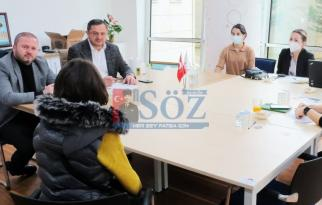 Tayfun Karataş Fatsa'da istihdamı arttırmak için mücadelesine devam ediyor..